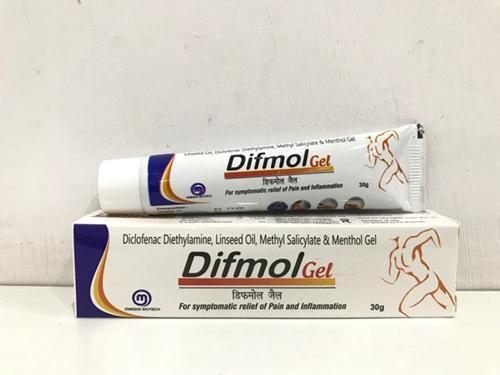DIFMOL GEL | Buy Orthopedic Gel Medicines Online